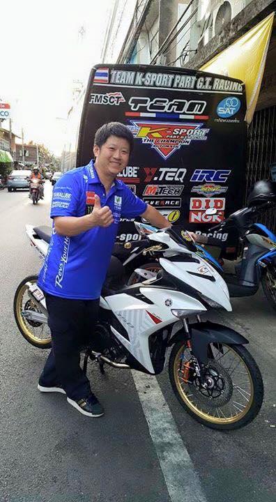 Exciter 150 độ drag từ thailan