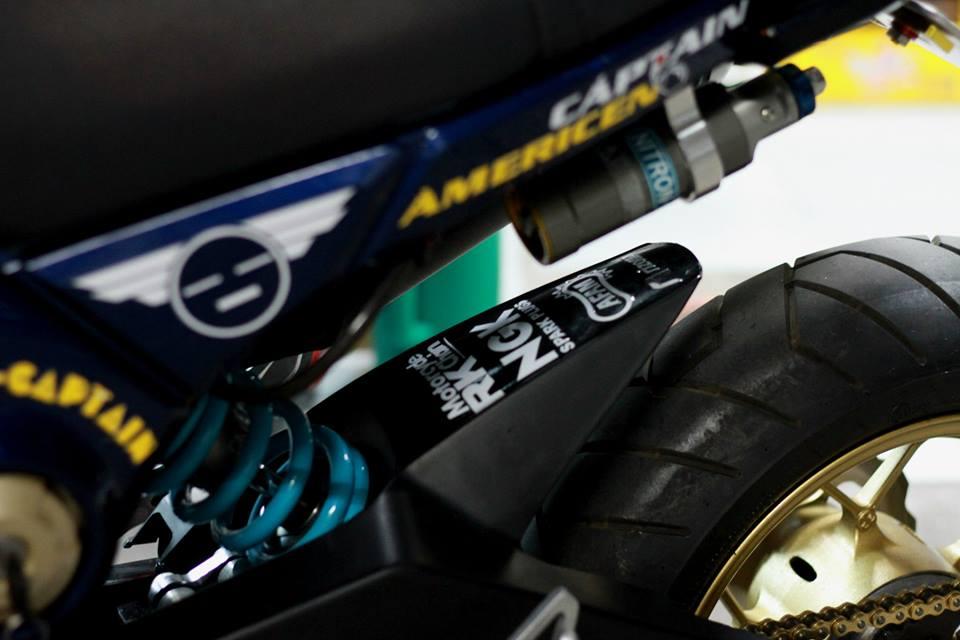 Honda msx chiếc xe mang kiểu dáng lạ mắt