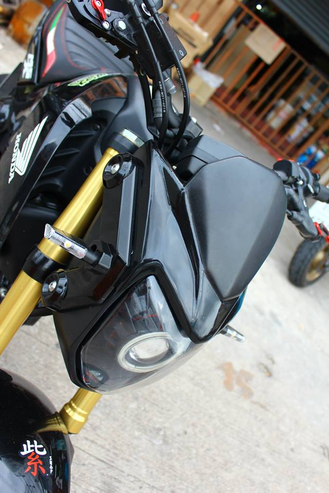 Honda msx độ kiểng sành điệu tại đất thái