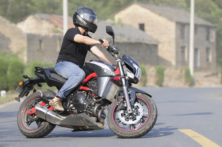 Ngắm cf650nk môtô nakedbike đến từ trung quốc
