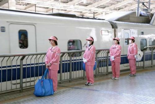 Những thiên thần trên tàu cao tốc shinkansen