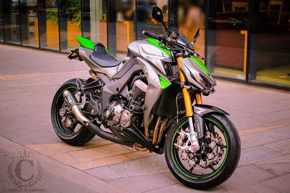 Kawasaki z1000 khoe dáng tại sài gòn