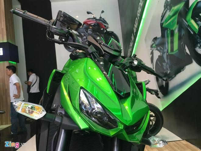 Ngắm 18 môtô chính hãng của kawasaki ở việt nam