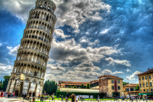 Tháp nghiêng pisa có thể biến thành khách sạn hạng sang
