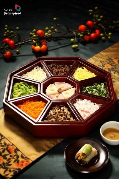 thèm thuồng trước những món ăn đầy tính nghệ thuật hàn quốc