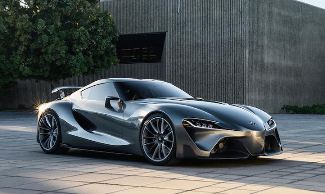 Toyota supra thế hệ 2018 sẽ đậm chất bmw