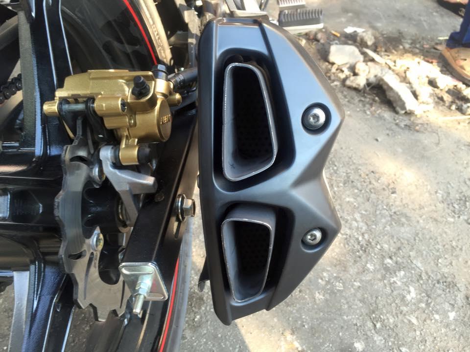 Yamaha exciter độ với pô z1000 hầm hố và uy lực