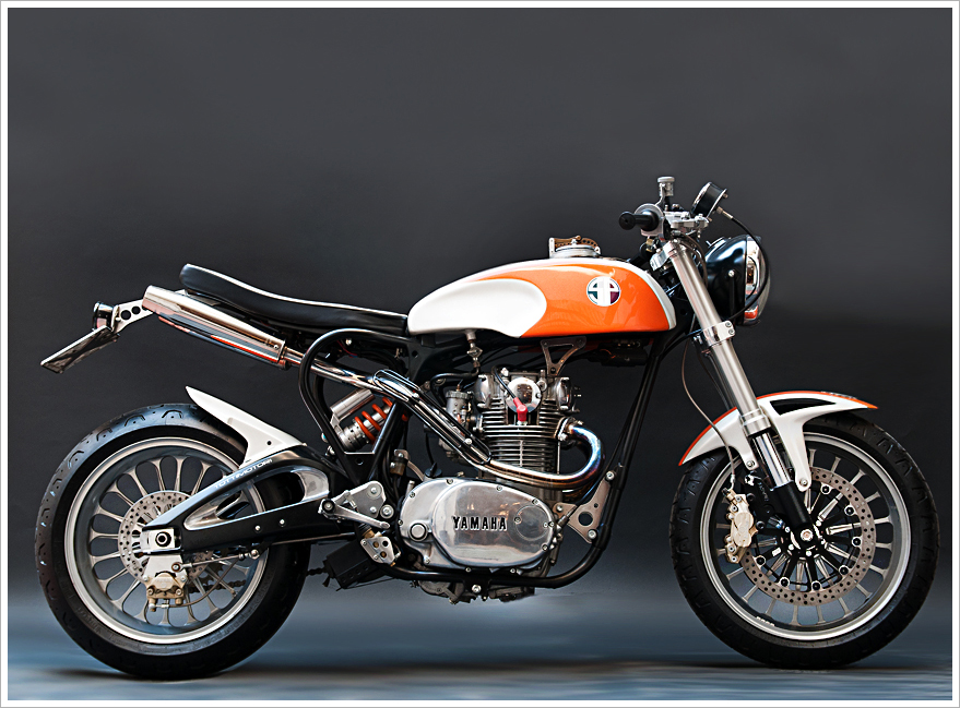 Yamaha xs650 độ như một chiến binh cổ điển đầy tinh tế