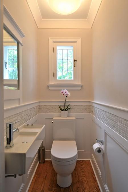 12 mẹo cho nhà vệ sinh hẹp
