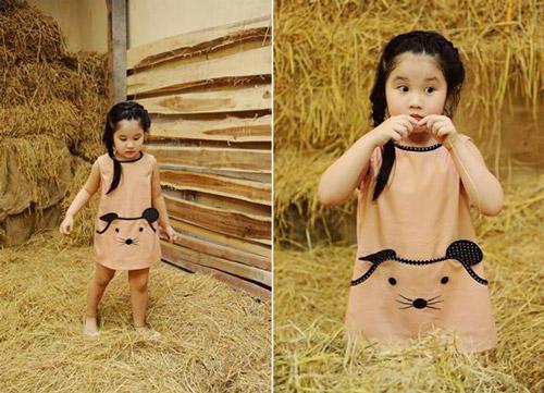 Thời trang thiết kế cho trẻ em lên ngôi