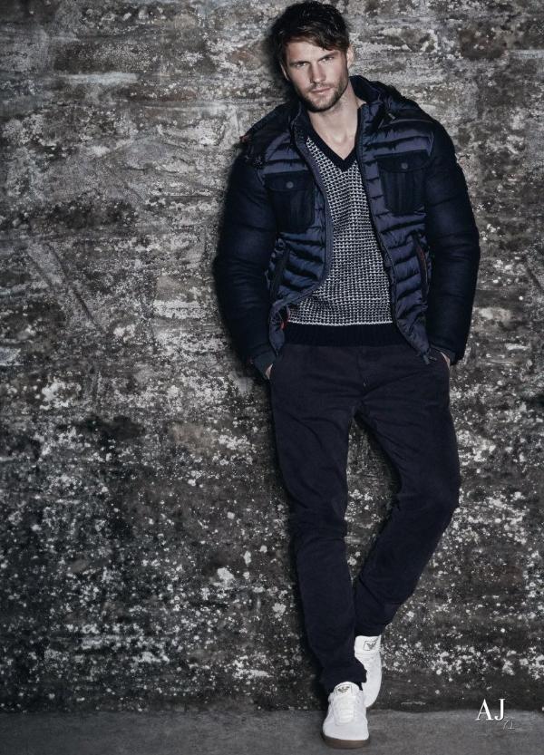 Bst jeans thu đông của armani đầy sang trọng