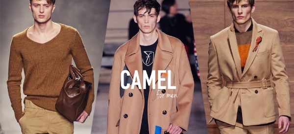 Nâu camel xu hướng màu sắc cực hot cho các men