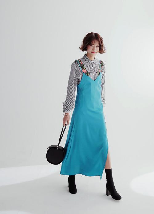 Những cách tuyệt hay để bạn tha hồ mặc váy giữa trời đông