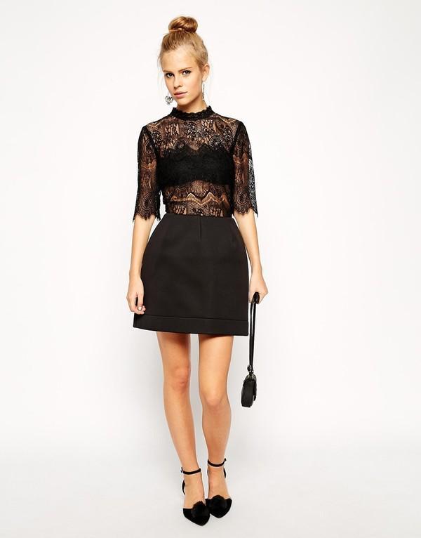 Những kiểu váy ren đẹp hot nhất hiện nay