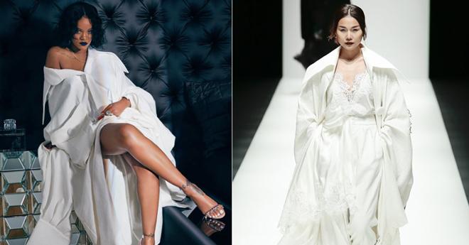 Rihanna khác thanh hằng một trời một vực