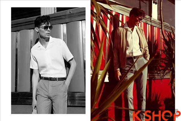 Áo khoác nam đẹp lookbook của ressi sang chảnh