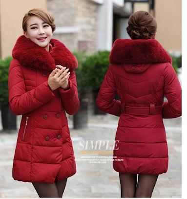 Áo khoác phao nữ cổ lông đẹp cho nàng xinh xắn