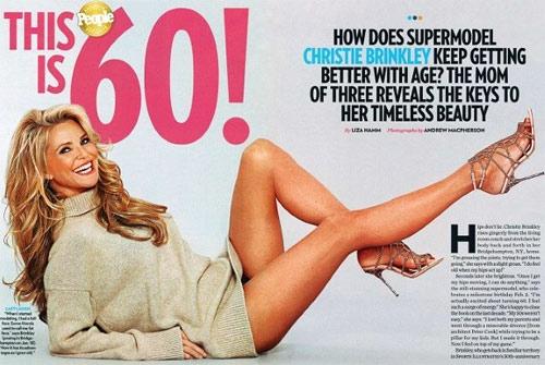 Bí mật vẻ đẹp của người mẫu 61 tuổi này