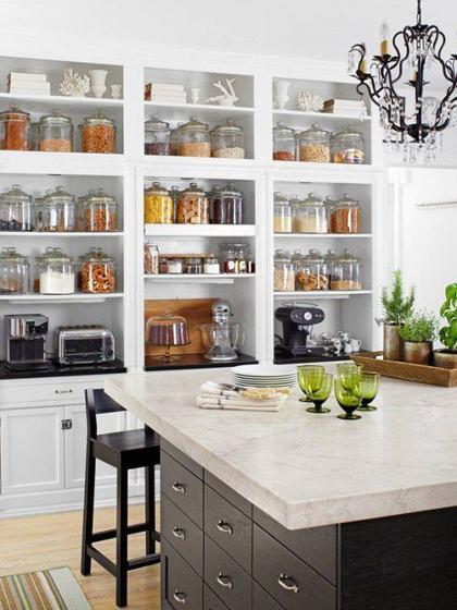 Cách sắp xếp và giữ gìn những căn bếp gọn gàng