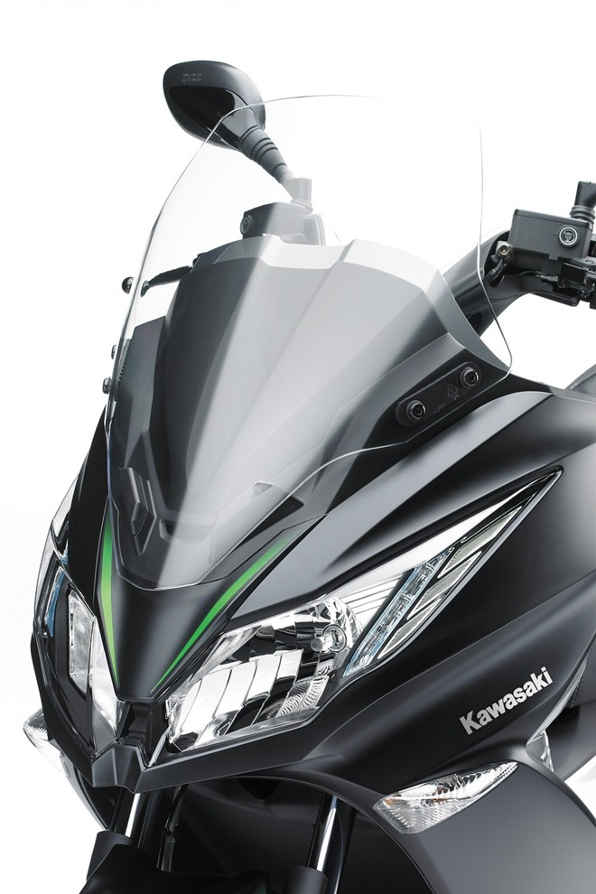 Kawasaki j125 dòng xe tay ga độc đáo của kawasaki