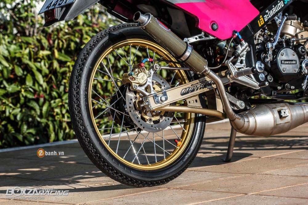 Kawasaki kips đầy chất chơi với bản độ cá tính