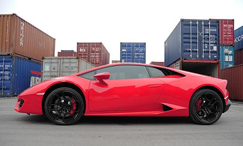 Lamborghini huracan lp580-2 siêu giá ở hải phòng