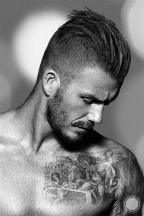 Những kiểu tóc của beckham đầy nam tính