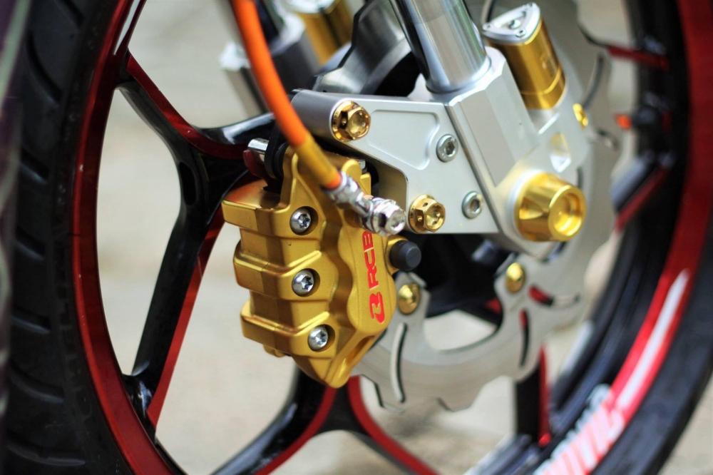 Yamaha exciter 150 trong bộ cánh tem đấu q-racer đầy ấn tượng