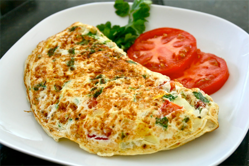Da đẹp dáng vóc ngọc ngà nhờ món trứng tráng đơn giản