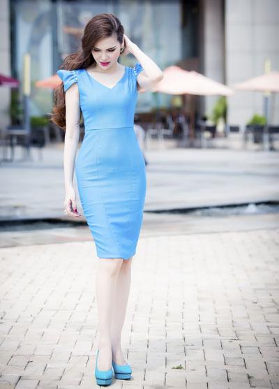 Những bộ váy mùa hè của diệu hân đầy cá tính