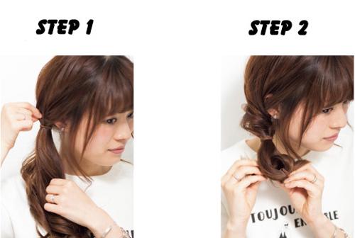 Tạo tóc xinh trong vòng 3 nốt nhạc