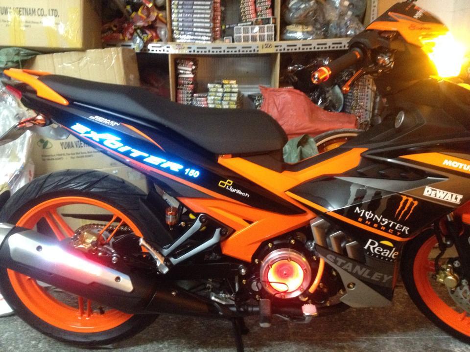 Yamaha exciter 150 độ full led cực sáng chói